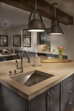 Fascinating Lighting In The Kitchen Design Frame Decoration On Wall Beside Dining Table Set Island Pendant Lamps