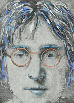 My Portrait of John Lennon ♡