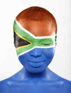 September sees us celebrating the rich diversity of cultures and heritage that make up who we are – South Africans! South African Flag, Africa Flag, My Black Is Beautiful, Beautiful Things, Beautiful People, Beyond Beauty, Flag Face, Out Of Africa, Thinking Day