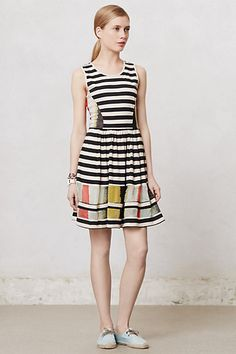 Modern Composition Dress #anthropologie
