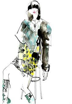 kingston fashion illustration - Google Search