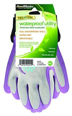 USE:  Magid AL3000T Allegro Waterproof Nitrile Coated Glove