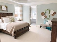 Farmhouse Style, Arch, Brass, Bedroom, Spring, Furniture, Instagram, Home Decor, Room