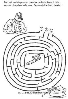 labyrinthe a imprimer 34