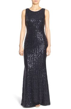 Bee Darlin 'Leighann' Sequin Gown available at #Nordstrom