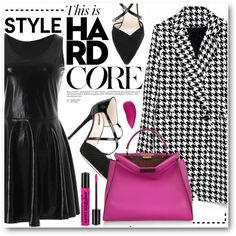 Wet look by stylemoi-offical on Polyvore featuring moda, Giorgio Armani, Fendi, Lipstick Queen and stylemoi