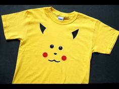 DIY Pikachu Shirt - The Scrap Shoppe