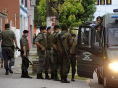 Mandan 350 gendarmes de Acha a Santa Fe