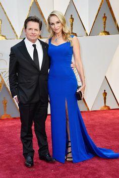 Michael J. Fox and Tracy Pollan Oscar 2017 Red Carpet Arrival: Red Carpet Couples 2017 - Oscars 2017 Photos | 89th Academy Awards