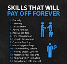 Personal Development Skills, Self Development, Life Advice, Good Advice, Life Skills, Life Lessons, Wisdom Quotes, Life Quotes, Habits Of Mind