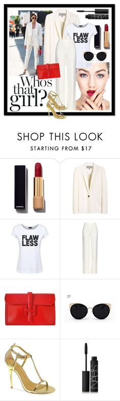 """""""Katie Holmes Style"""" by dead-legacy ❤ liked on Polyvore featuring Chanel, Mulberry, Dead Legacy, Diane Von Furstenberg, Hermès, Una-Home, Chinese Laundry, NARS Cosmetics, katieholmes and Whitewinter"""