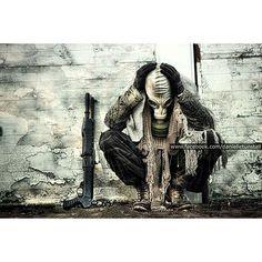 I can't find the words as usual to go with the image, hope it makes sense x #alone #alone #lostsoul #forgiveme #ptsd #ptsdawareness #ptsdrecovery #mentalhealth #mentalhealthrecovery #mentalhealthawareness #nightmare #chemicalwarfare #symbolic #brutalmasks #ig_masks #artimitatinglife #art_4share #mask #gasmask #gramslayers #vibegramz #sad #depression #lastonestanding #apocalypse