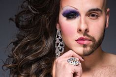 Portrait Photography of Drag Queens with Makeup and their Alter Ego | Wedding Photography Design