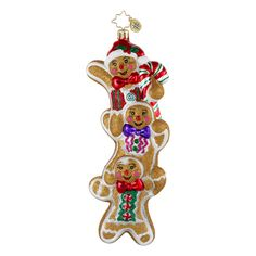 Radko Ornaments Candy Sweets Three Times as Sweet Christmas Ornament