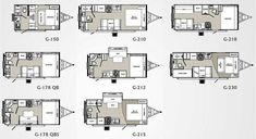 Classic Free Tiny House Trailer Plans With Palomino Gazelle Micro Lite Travel Trailer Floorplans Tiny House Trailer Plans, Travel Trailer Floor Plans, Travel Trailer Interior, Rv Floor Plans, Tiny House Plans, Rv Interior, Deck Plans, Interior Design, Small Camping Trailer