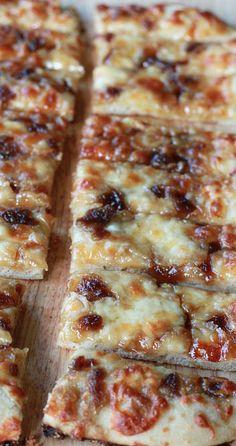 Brown Sugar Garlic Mozzarella Breadsticks....