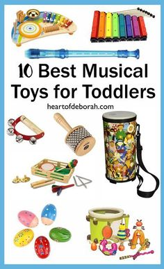Want to expose your child to different beats, melodies, and instruments? Try… #toysfortoddlers