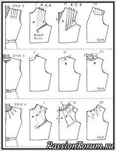 Amazing Sewing Patterns Clone Your Clothes Ideas. Enchanting Sewing Patterns Clone Your Clothes Ideas. Pattern Cutting, Pattern Making, Dress Sewing Patterns, Clothing Patterns, Bodice Pattern, Sewing Blouses, Couture Sewing, Fashion Sewing, Diy Clothing
