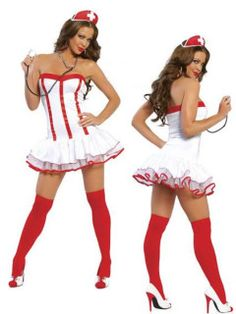 Rubie's Costume Sexy Halloween Costumes Naughty Nurse Outfit Costume L Womens U. Costumes Avec Tutu, Costumes Sexy Halloween, Adult Costumes, Costumes For Women, Cosplay Costumes, Holiday Costumes, Halloween Ideas, Nursing Clothes, Nursing Dress
