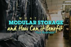 Whether you're new in the business industry or a seasoned corporation looking to maximise capacity, a modular storing system that suits your needs is the ideal solution. Check this out!