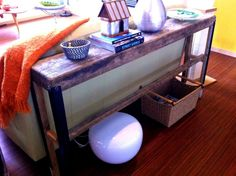 Narrow Sofa Table With Ideas Picture