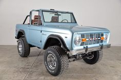 Classic Ford Broncos on BFGoodrich