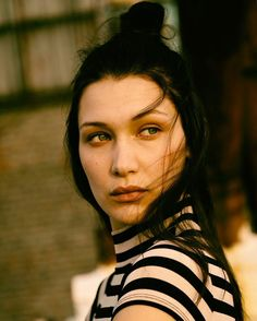 Bella Hadid shot by Tyler Ford for Visionaire series.