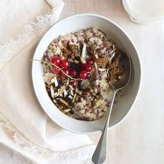 We love chai anything—especially this multigrain porridge, made here with oats, millet, spelt, and flaxseed. Get the recipe from Delish.    - Delish.com
