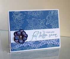Heartfelt Feel Better Soon by elmo98ca - Cards and Paper Crafts at Splitcoaststampers