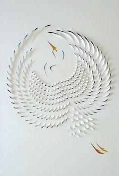 A arte em papel de Lisa Rodden - Arte | Comunicadores