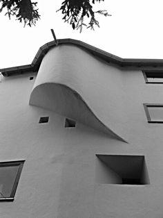 Rudolf Olgiati, Flims Space Architecture, Concrete, Contemporary, Modernism, Beige, Grey, Facades, Classic, Building