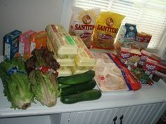 Check out Brigette's FOUR shopping trips (click through for all the pictures and details!) that totaled $52 + see what she's feeding her family of six this week --> http://bit.ly/RLYtNv