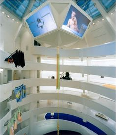 Installation view: Matthew Barney: The Cremaster Cycle, 2003. At skylight.