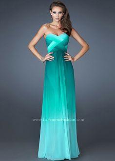 La Femme 18525 - Jade Strapless Beaded Dress, Prom Dresses 2013 - RissyRoos.com