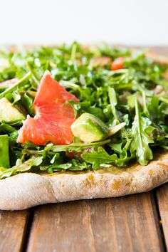 How to make a Salad Pizza