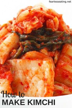 There are many different ways to make kimchi. This simple kimchi recipe is a great place to start if you're making kimchi for the first time.