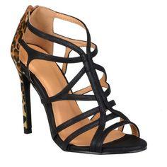 Journee Collection Women's Strappy High Heel Sandals