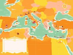 Monocle on Med Map | Flickr - Photo Sharing!
