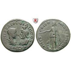 NEW  Römische Provinzialprägungen, Thrakien, Tomis, Philippus II., Caesar, Bronze 244-247, ss-vz: Thrakien, Tomis. Bronze 26 mm… #coins