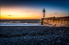 Lighthouse @ sunset by Sus Bogaerts, via 500px