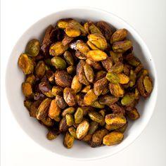 Oct. '12:  Spiced Pistachios