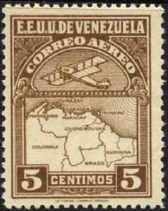 SOME BEAUTIFUL VENEZUELAN STAMPS