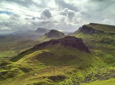 The Quiraing, Skye by Andrew Wood Andrew Wood, Photography Themes, Amazing Art, Over The Years, Scotland, To Go, Explore, Mountains, Water