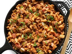 Cast iron skillets can go from the stovetop to the oven, to the grill and beyond. Here are some cast iron skillet recipes to go with this kitchen must-have, Best Cast Iron Skillet, Iron Skillet Recipes, Cast Iron Recipes, Skillet Meals, Skillet Pan, Skillet Chicken, Meat Recipes, Pasta Recipes, Chicken Recipes