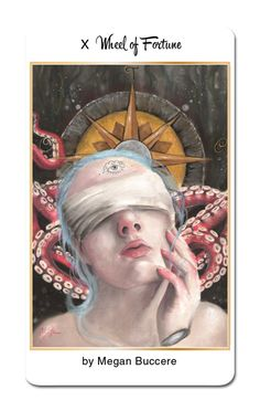 @meganbuccere joins us after creating a wild card for our first deck, to create the Wheel of Fortune for 78 Tarot Nautical https://www.kickstarter.com/projects/kayti/78-tarot-nautical #78Tarot #78TarotNautical #Tarot #Kickstarter #Wheel #WheelofFortune #Art #MajorArcana #Arcana #Fortune