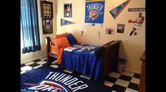 Oklahoma City Thunder 7 Piece Full Size Bedding Set $150 | For The Home |  Pinterest | Oklahoma City Thunder, Oklahoma City And Bed Sets