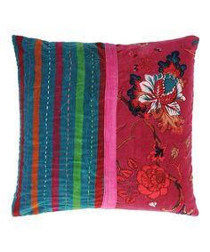Look at this #zulilyfind! Fuchsia Tree Throw Pillow #zulilyfinds