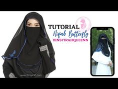Niqab tutorial by Dinsyirahqueen - YouTube Hijab Niqab, Dress Sewing Patterns, Eye Makeup, Abayas, Womens Fashion, Dan, Youtube, Prom Dresses, Chic