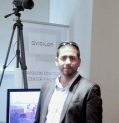 Sales Manager, Distributor Chile, Megapixel Avigilon, Esteban Painevilo