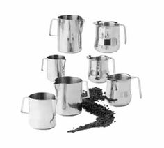 Polar Ware Steaming Pitcher 20 oz. - T9120  Steaming Pitcher, 20 oz., tapered sides, stainless steel
